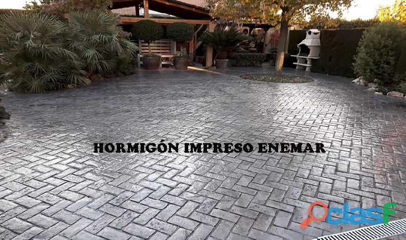 Hormigón impreso illescas   697226559