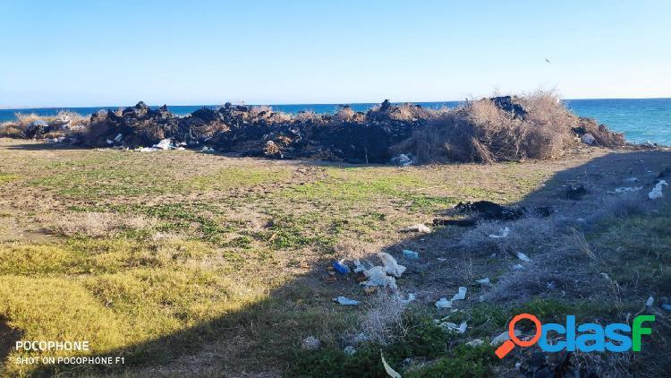 Terreno rústico en Adra en 1ª linea de playa 2