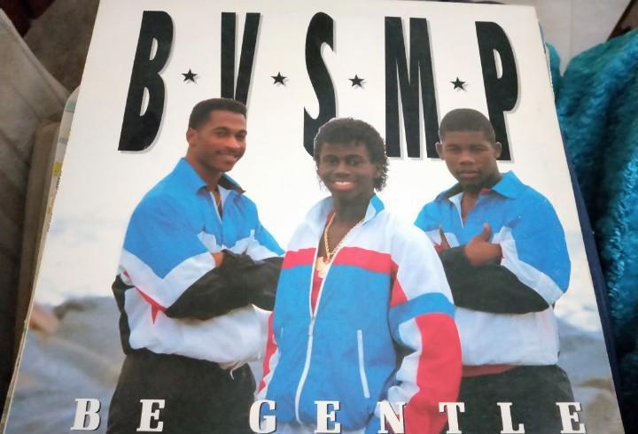 "B.v.s.m.p. - be gentle (12"") sello:boy records cat. nº:"
