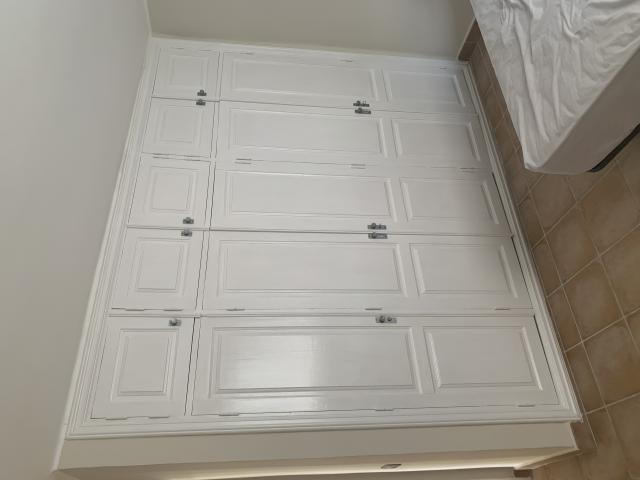 Puertas de madera para el armario