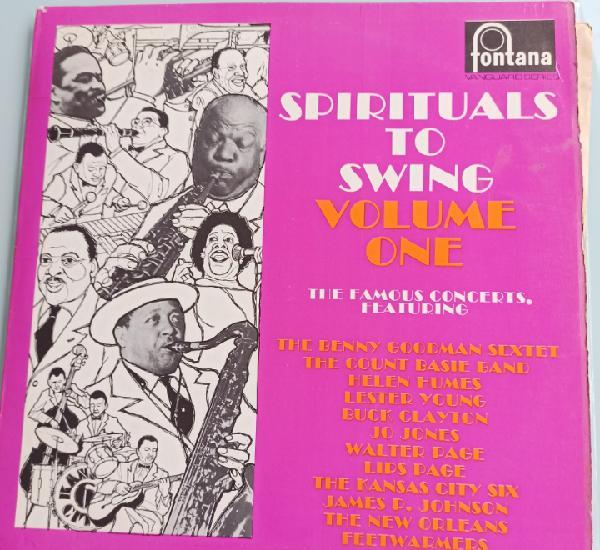 Spirituals to swing volume one (fontana - fjl 401, uk, 1962)