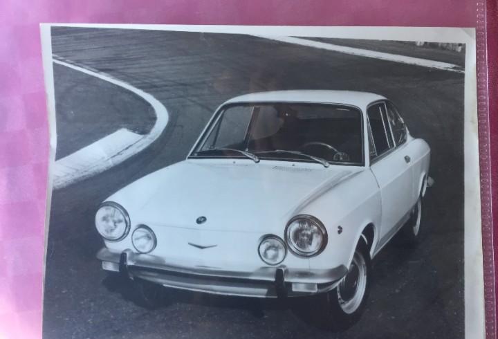 Foto de prensa seat 850 sport coupe