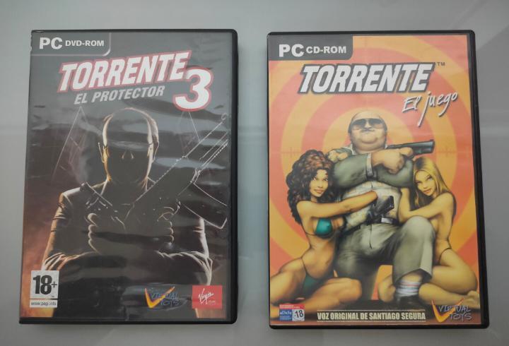 2x juegos pc torrente y torrente 3 manual