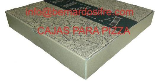 Caja de carton pizza 26x26
