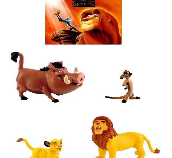Figuras pvc el rey leon disney bullyland