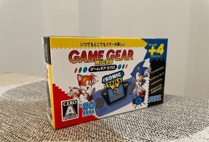 Game gear micro azul nueva