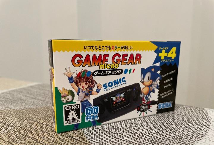 Game gear micro negra nueva