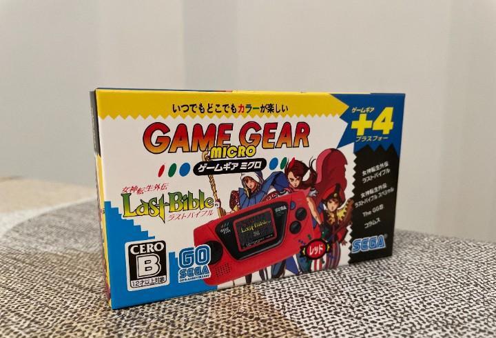 Game gear micro roja nueva