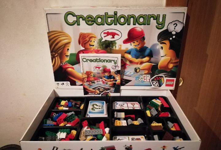 Juego creationary - lego - bastante completo