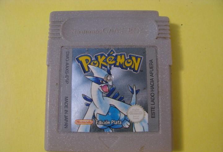 Pokemon edicion plata game boy o game boy color nintendo.