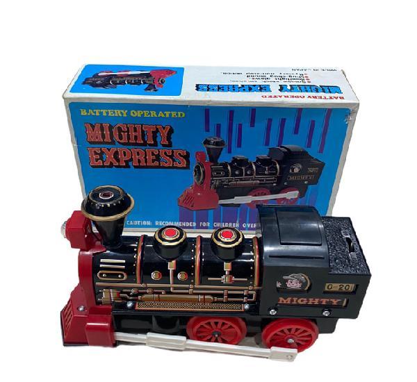 Tren juguete mighty express