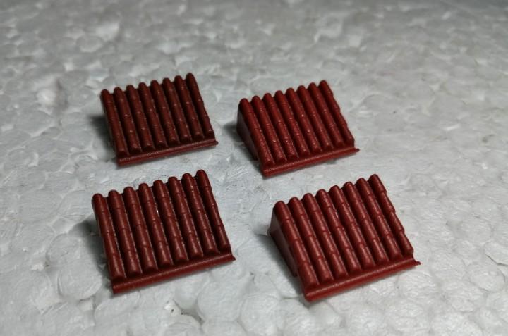 Marron teja micro 2 - tente (4 unidades)
