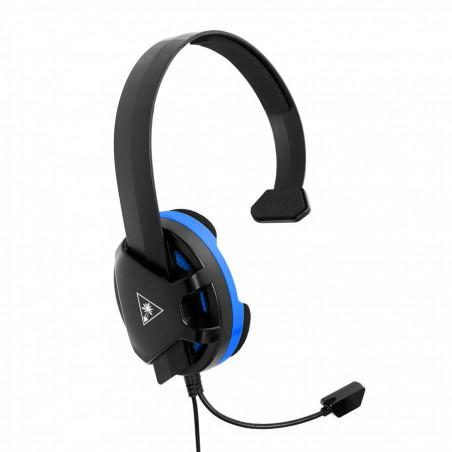 Headset gaming turtle beach recon chat negro azul ps4