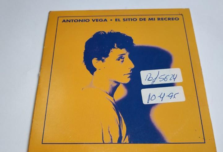 0221- antonio vega en el sitio de mi recreo single promo cd