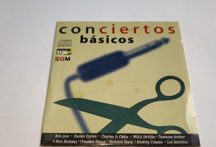 0221- conciertos basicos 40 principales 10 tracks cd - disco