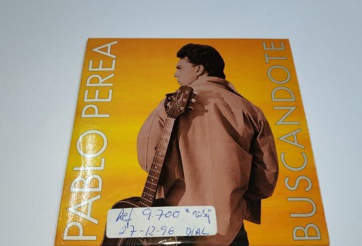 0221- pablo perea buscandote 2 tracks cd - disco estado