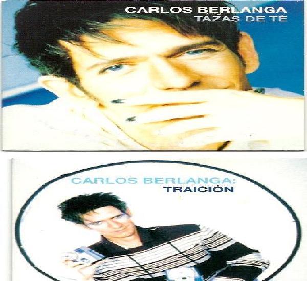 Carlos berlanga. tazas de te. traicion. (2 cd singles)