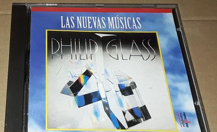 Cd - philip glass - glassworks - las nuevas musicas - philip