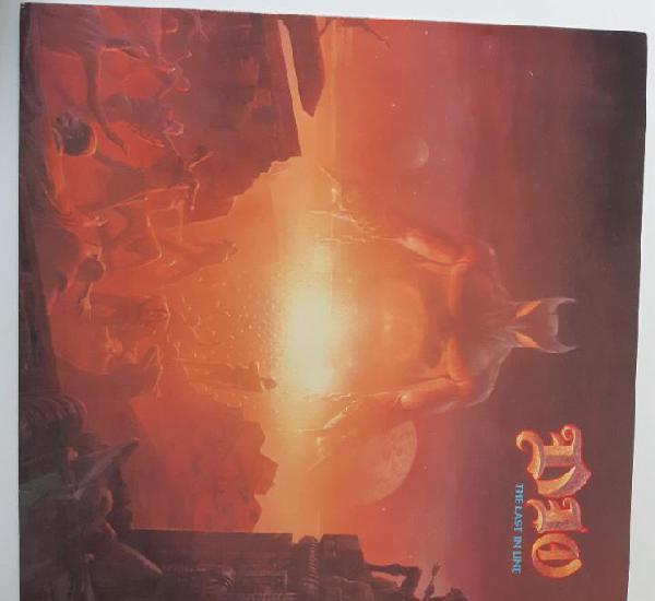 Dio - the last in line - holland lp 1984 + encarte - vinilo