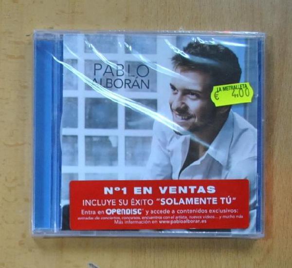 Pablo alboran - pablo alboran - cd