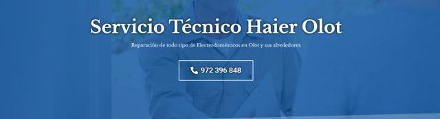 Servicio técnico haier olot 972396313