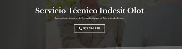 Servicio técnico indesit olot 972396313