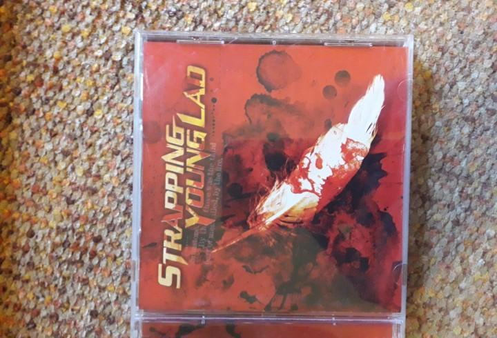 Strapping young lad, syl, cd 2003, leves señales de uso,