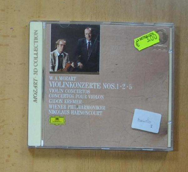 W. a. mozart - violinkonzerte nos 1 2 5 - cd