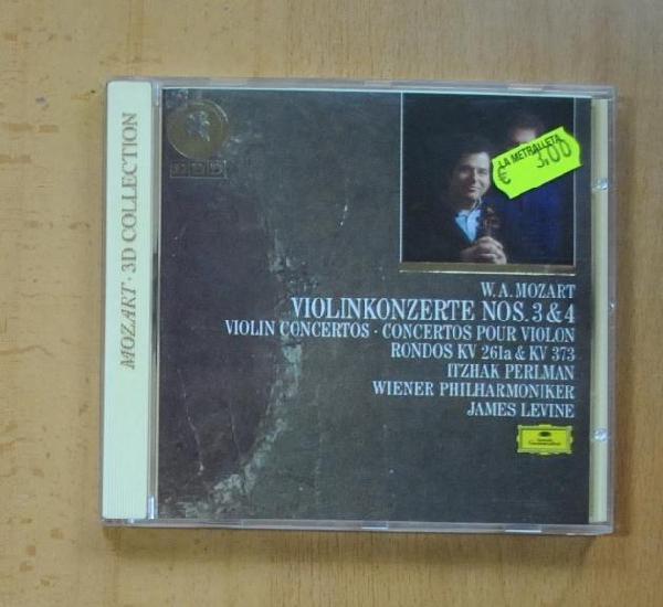W. a. mozart - violinkonzerte nos 3 & 4 - cd