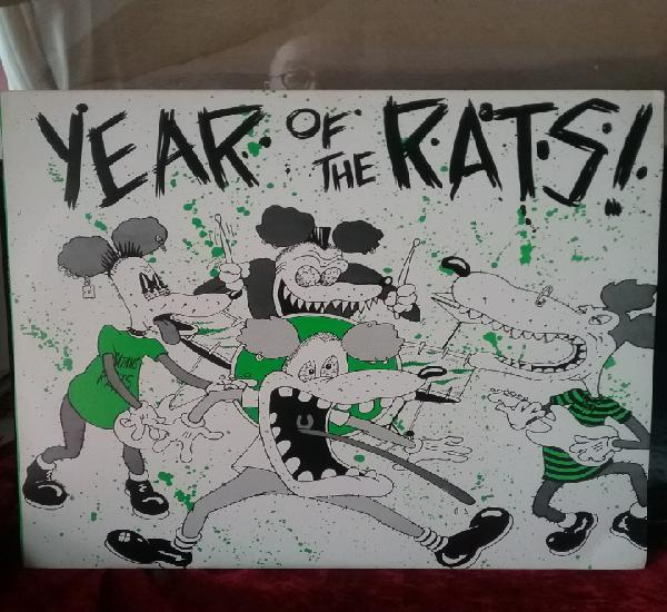 Year of the rats! 70's rare punk.mítico album