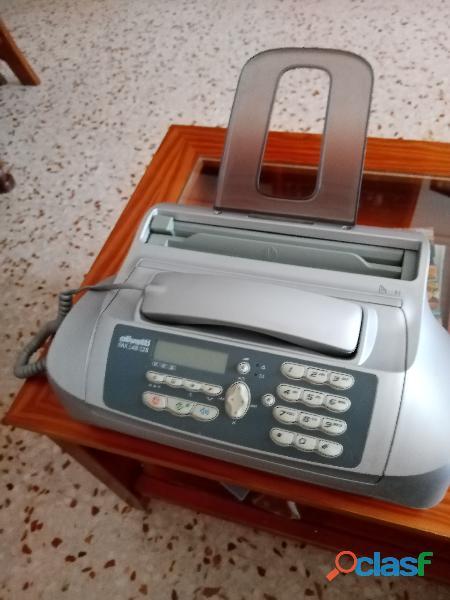 Teléfono con fax marca olivety