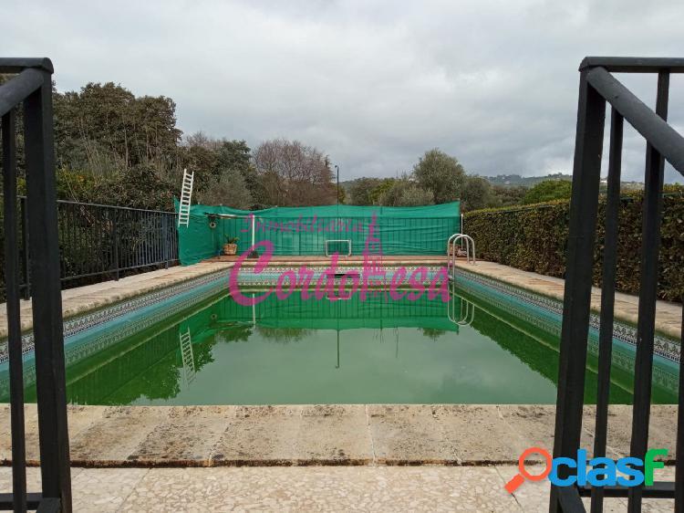 Casa y terreno hipotecables en villarrubia con piscina