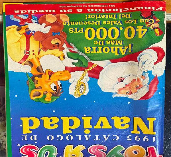 Catálogo de navidad toys r us juguetes 1995, 47 paginas
