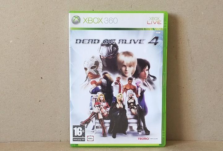 Juego xbox 360 - dead or alive 4 - completo - xbox 360