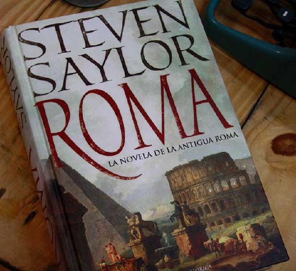 Roma. la novela de la antigua roma - steven saylor - libro