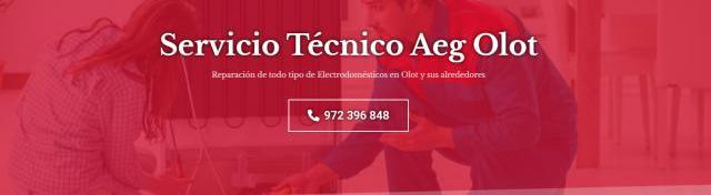 Servicio técnico aeg olot 972396313