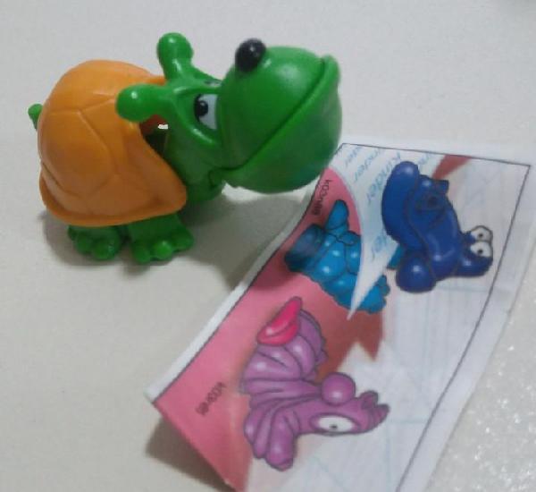 Figura montable k03 03 alien muñeco tortuga turtle bpz