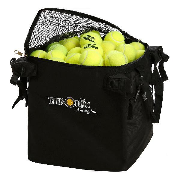 Tennis-point bolsillo para pelota - negro