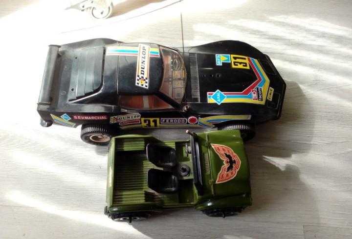 Coches de juguete años 80