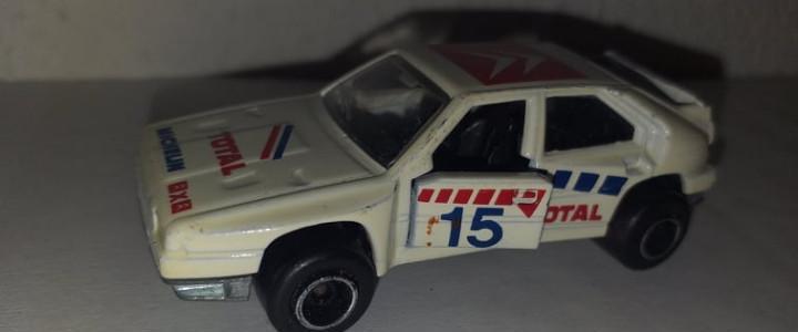 Citroen bx 4 tc coche a escala 1/56 majorette 225
