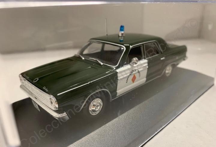 Coche dodge dart - guardia civil - 1968 / agrupación de