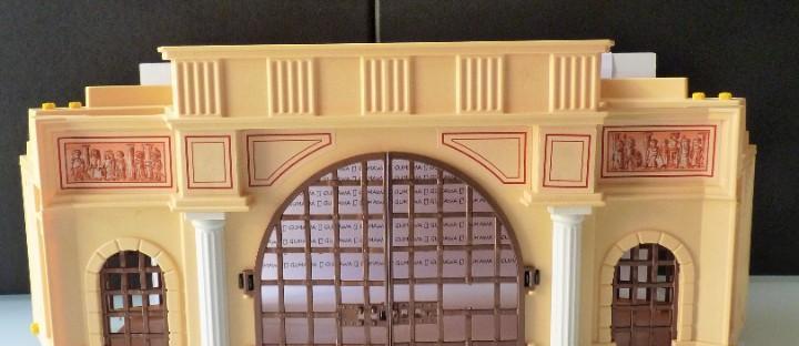 Playmobil puerta principal coliseo romano (incompleta) 4270