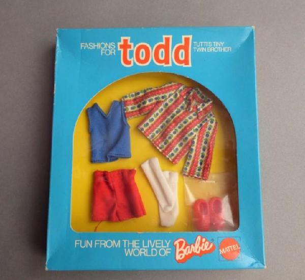 Precintado. vintage barbie mattel tutti todd outfit. 1973