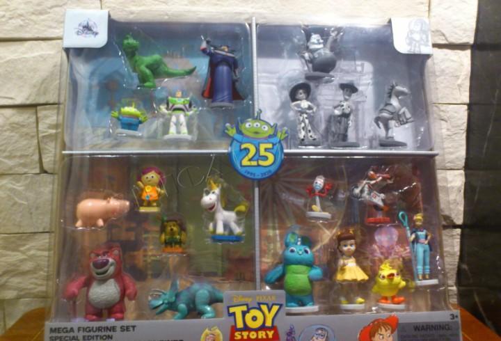 Toy story - mega set figuras - 25 aniversario - edicion