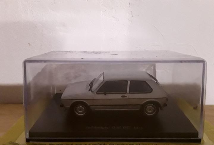 Volkswagen golf gti 1976 escala 1:43