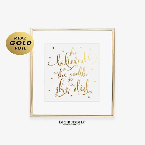 Ella cree que podría así que ella hizo oro plata o rosa