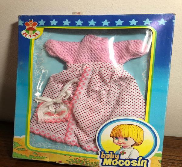 Caja blister conjunto pañalitos muñeca toyse baby mocosin