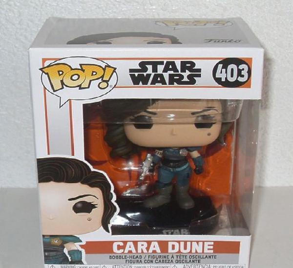 Cara dune (star wars the mandalorian) figura funko pop!