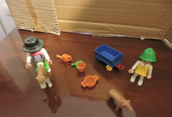 Elementos de granja playmobil. lo que se ve en las fotos.