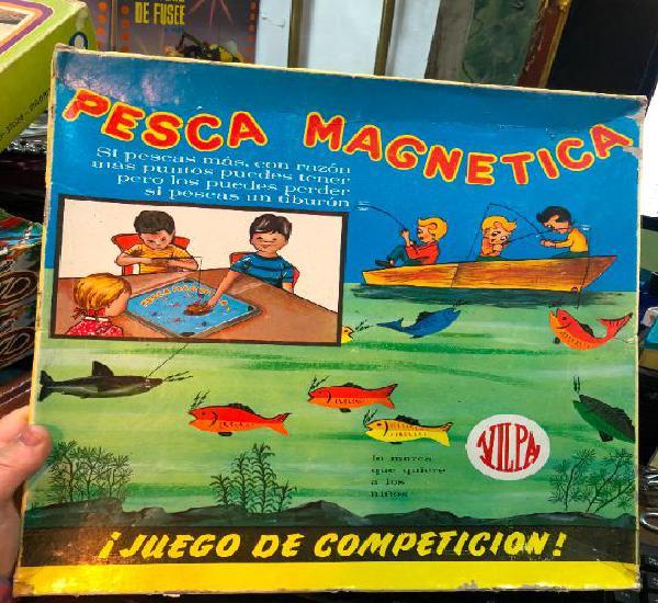Juguete pesca magnetica en caja original